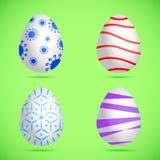 wielkanoc jajka odłogowania Obrazy Royalty Free