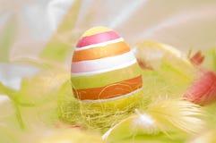 wielkanoc jajka szczęśliwi Zdjęcie Royalty Free