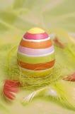 wielkanoc jajka szczęśliwi Obrazy Royalty Free
