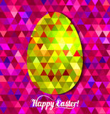 wielkanoc jajko szczęśliwy Obraz Stock