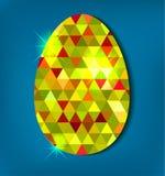 wielkanoc jajko szczęśliwy Obraz Royalty Free