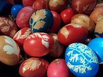 Wielkanoc jako tła jaj Obraz Royalty Free