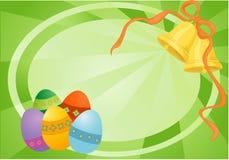 Wielkanoc karty royalty ilustracja