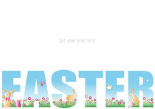 Wielkanoc karty Obrazy Stock