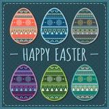 Wielkanoc karty wakacje 10 eps Obrazy Stock