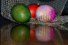 Wielkanoc kolor jaj Zdjęcie Stock