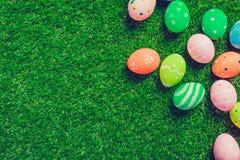 Wielkanoc kolor jaj Obraz Stock