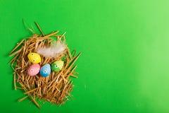 Wielkanoc kolor jaj Zdjęcia Royalty Free
