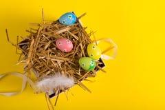 Wielkanoc kolor jaj Zdjęcia Stock