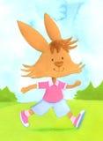 Wielkanoc królik Zdjęcia Stock
