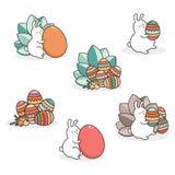 Wielkanoc królika jajko wektor Fotografia Royalty Free