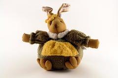 Wielkanoc królika kobieta Zdjęcie Royalty Free