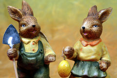 wielkanoc króliki zdjęcie royalty free