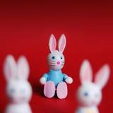 wielkanoc króliki Obrazy Royalty Free