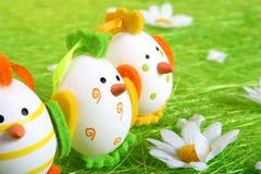 Wielkanoc kurczaka Obrazy Royalty Free