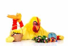 Wielkanoc kurczaka obraz royalty free
