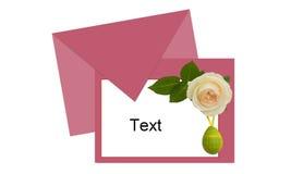 Wielkanoc list dla fotografii Fotografia Stock