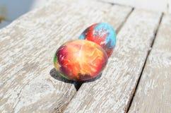 wielkanoc malowaniu jaj Obraz Stock