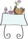 Wielkanoc na śniadanie Fotografia Stock