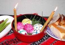 Wielkanoc preparatów Obrazy Royalty Free