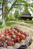 Wielkanoc przy Barsana monasterem Zdjęcia Stock