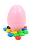Wielkanoc słodyczami jajko obraz royalty free