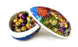 Wielkanoc słodyczami jajko Fotografia Stock