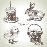 Wielkanoc set Obrazy Stock