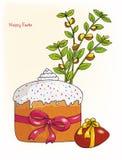 Wielkanoc set, wektorowa ilustracja Obraz Stock