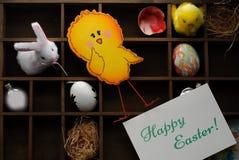 Wielkanoc tła szczęśliwy Fotografia Stock