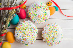 Wielkanoc tła piękna plama wakacyjna jaj Obrazy Stock