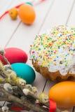 Wielkanoc tła piękna plama wakacyjna jaj Zdjęcia Royalty Free