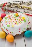 Wielkanoc tła piękna plama wakacyjna jaj Fotografia Stock