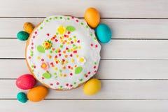 Wielkanoc tła piękna plama wakacyjna jaj Obraz Royalty Free