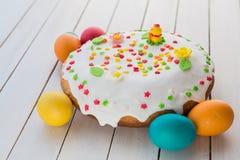 Wielkanoc tła piękna plama wakacyjna jaj Obrazy Royalty Free
