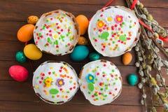 Wielkanoc tła piękna plama wakacyjna jaj Zdjęcie Stock