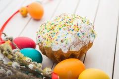 Wielkanoc tła piękna plama wakacyjna jaj Zdjęcia Stock