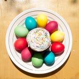 Wielkanoc tort. Obraz Stock