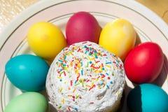 Wielkanoc tort. Zdjęcie Royalty Free