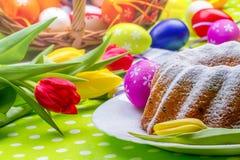 Wielkanoc tort Fotografia Stock