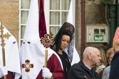 Wielkanoc w Galicia Hiszpania Obraz Royalty Free
