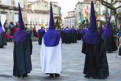 Wielkanoc w Galicia Hiszpania Fotografia Royalty Free