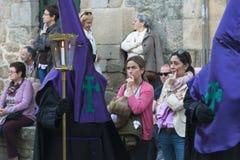 Wielkanoc w Galicia Hiszpania Fotografia Stock