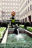 Wielkanoc w Nowy Jork mieście, Rockefeller centre Zdjęcia Royalty Free