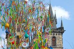 Wielkanoc w Praga, republika czech zdjęcie stock