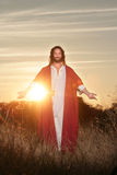 Wielkanoce Wzrastać błogosławieństwo ręki Zdjęcie Stock