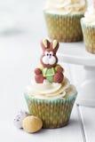 Wielkanocna babeczka zdjęcie royalty free