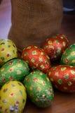 Wielkanocna czekolada i deser Zdjęcie Royalty Free