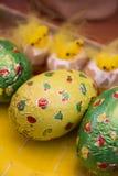 Wielkanocna czekolada i deser Zdjęcia Stock