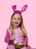 Wielkanocna dziewczyna zdjęcia royalty free